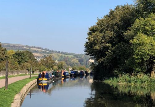 Walks around Bath: The canal towpath is a lovely route