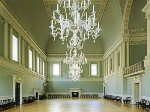 The Assembly Rooms were a focal point of Jane Austen's Bath