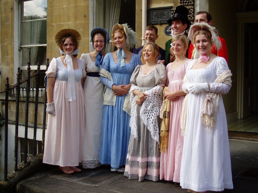 The Jane Austen Festival is a fun celebration of the famous author.