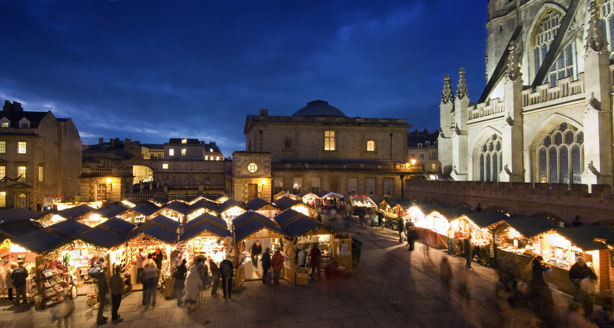 Christmas in Bath would not be complete without the Bath Christmas market