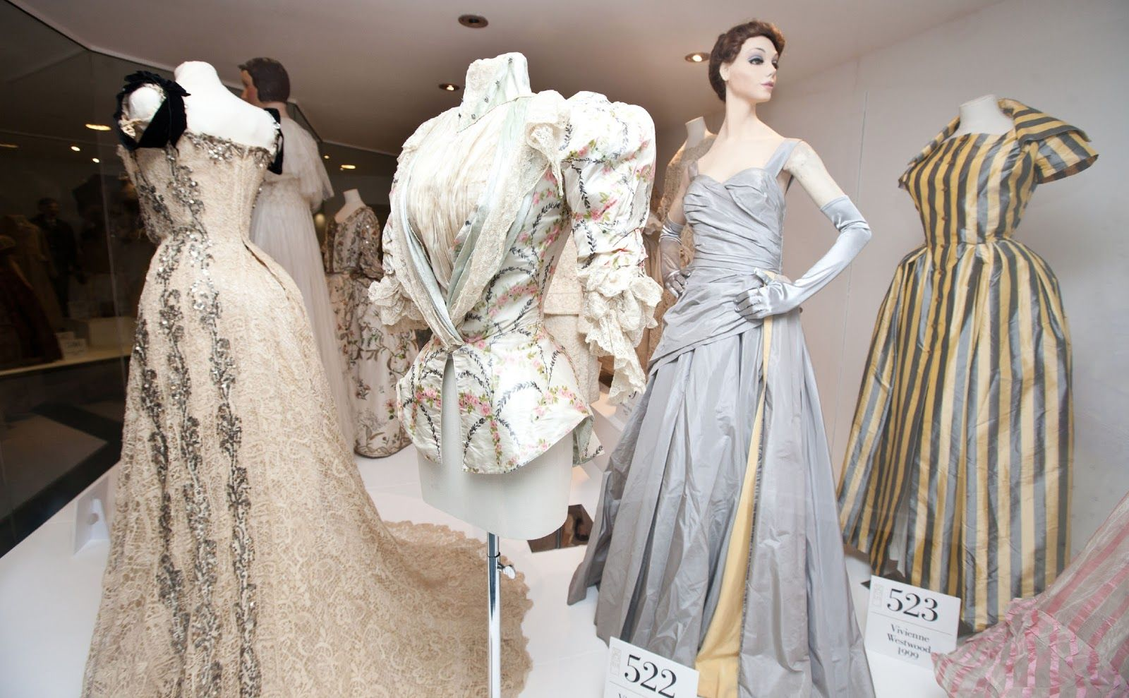 Bath's best museums - the Fashion Museum displays an array of amazing outfits