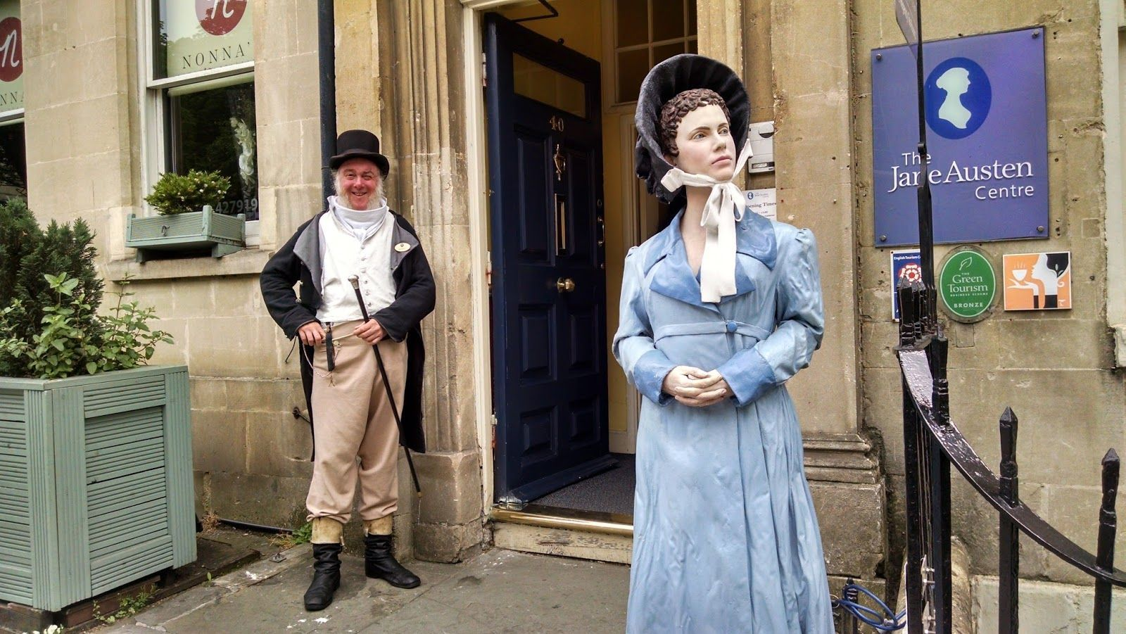 Bath's best museums - the Jane Austen Centre is a must for fans of the author.