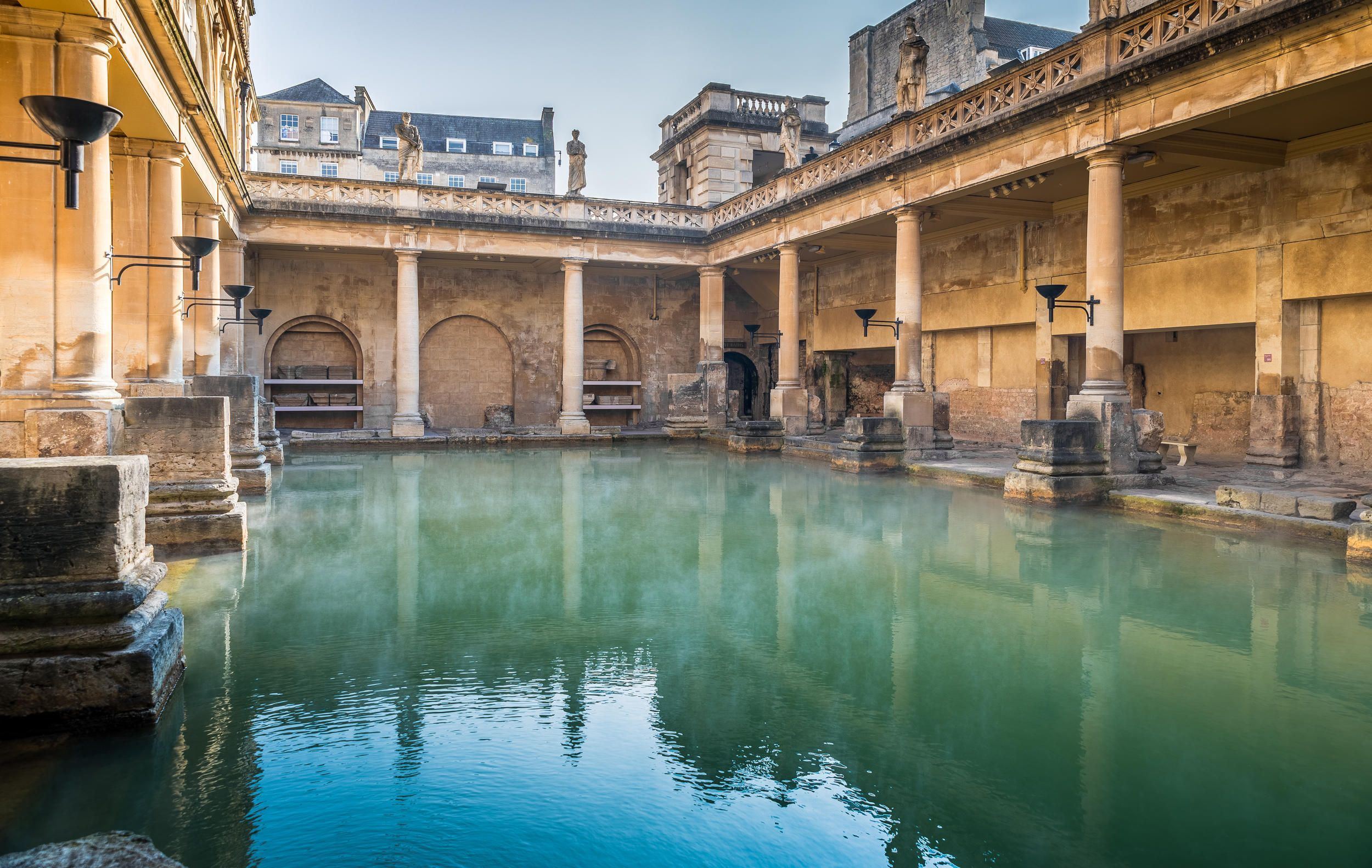The Roman Baths are a must see