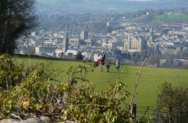 Walks around Bath: The Bath Skyline is a lovely circular route