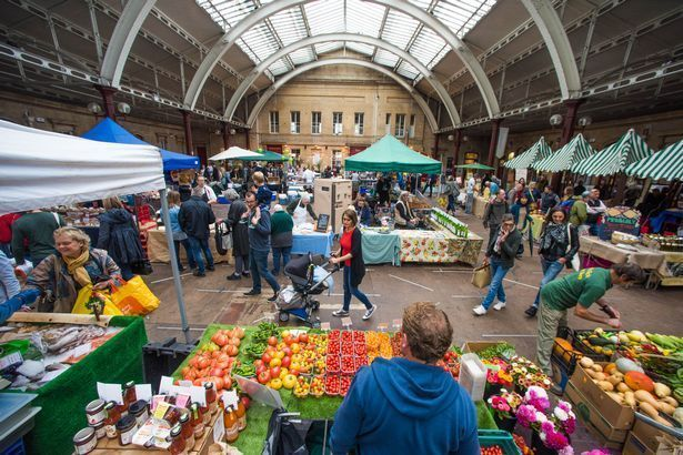 Green Park Station: home to a number of Bath markets