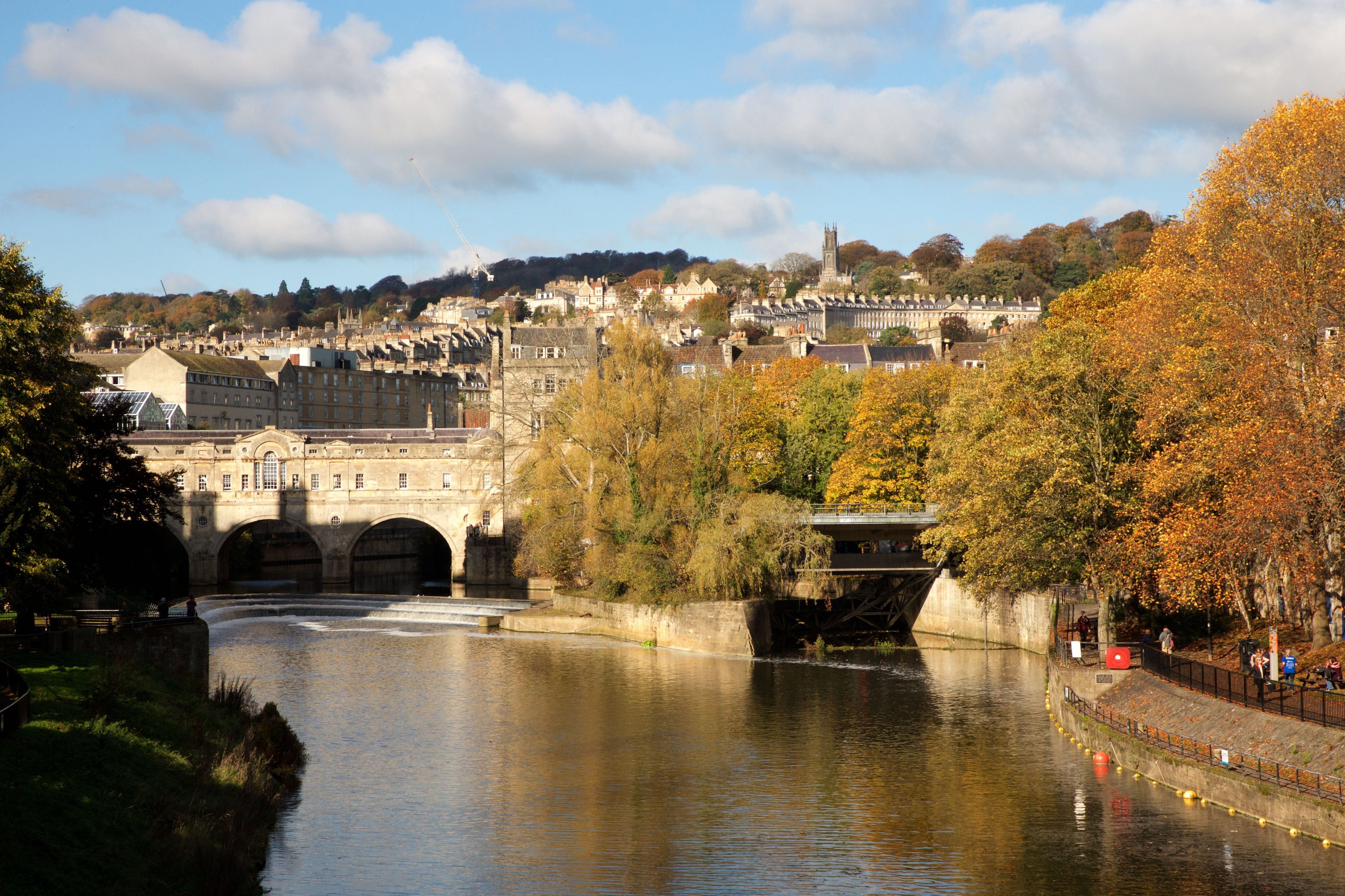Pulteney Bridge will transport visitors back to the era of Jane Austen