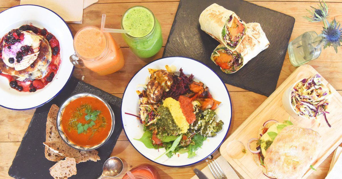 Vegetarian restaurants in Bath: Beyond the Kale is perfect for a healthy lunch.
