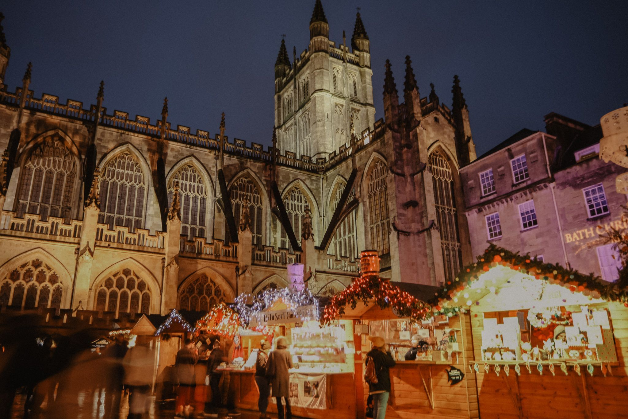 Christmas in Bath: join a carol service at the Abbey