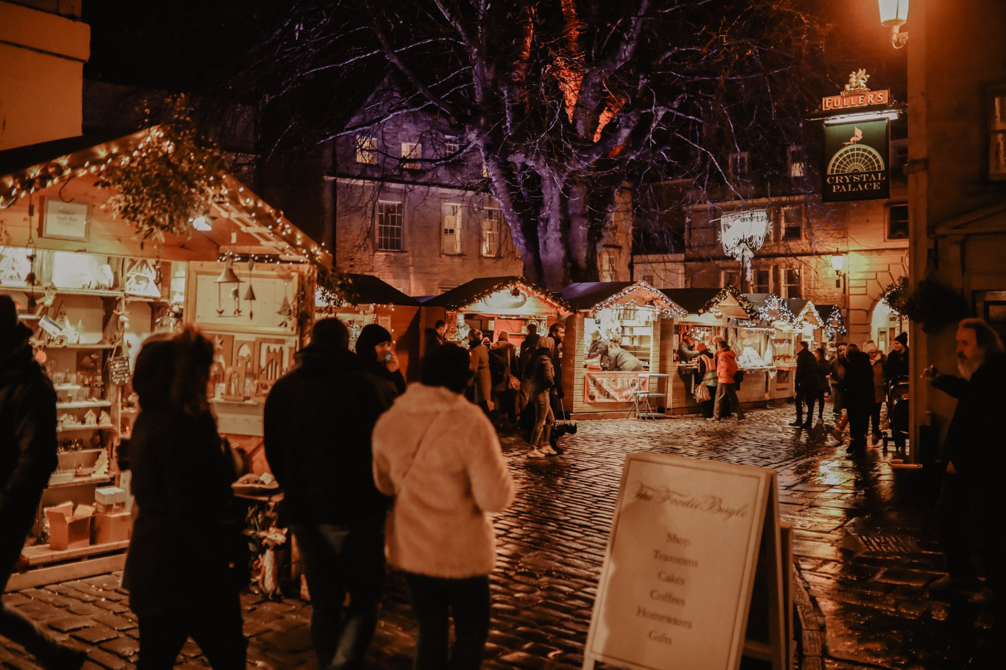 Christmas shopping in Bath: the Christmas market is a great place to start