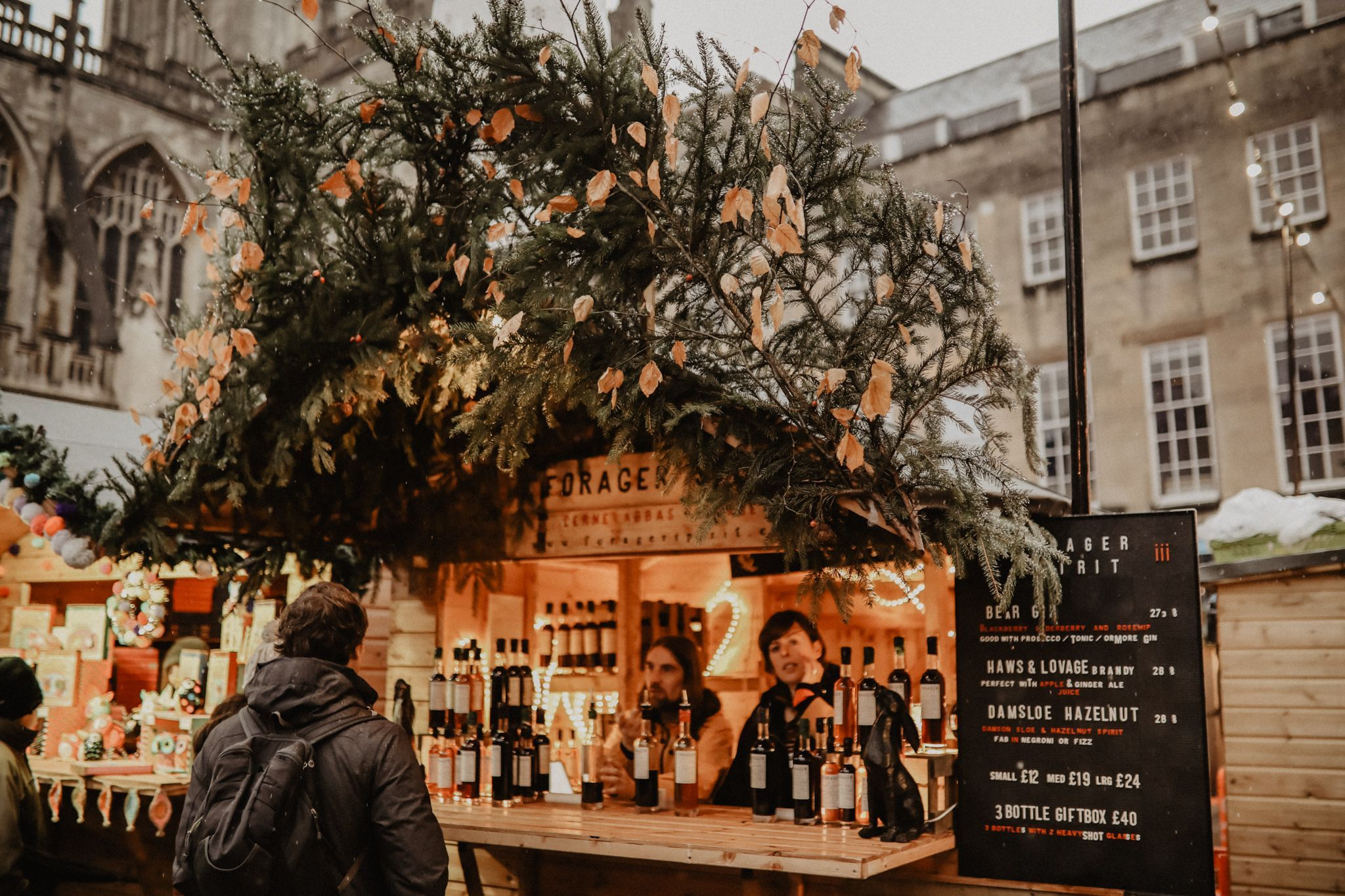 Christmas in Bath: get festive at the Christmas market