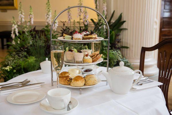 Afternoon tea at the Pump Room is a worthwile treat on a winter break in Bath