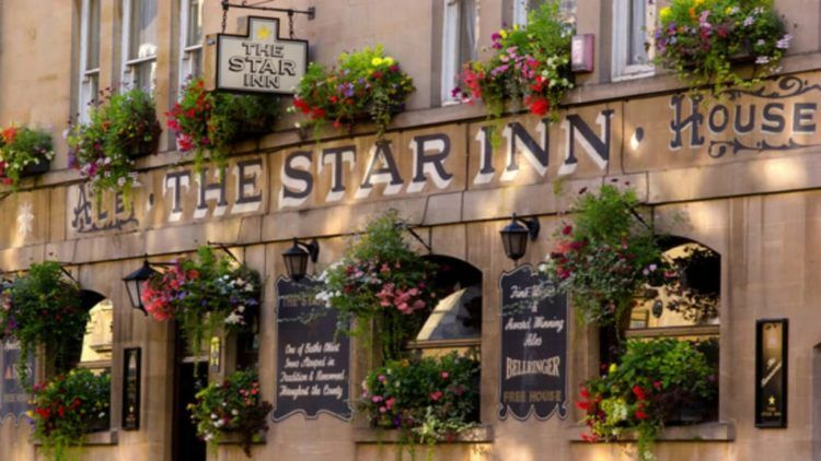 Winter pubs in Bath: The Star Inn is one of the most historic Bath pub