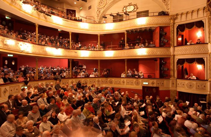 Enjoy a show at the Theatre Royal during a winter break in Bath: