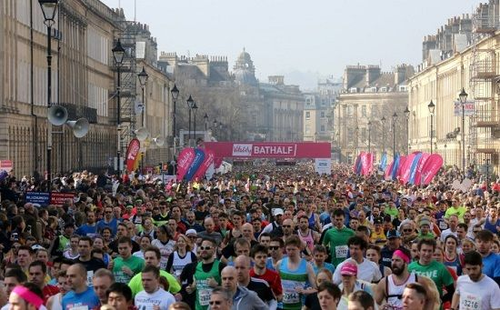 Bath events: Bath Half Marathon