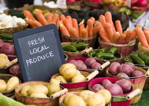 Find fresh seasonal produce at Bath's markets