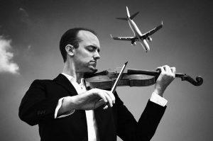 Legendary violinist Benjamin Baker