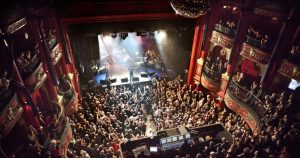 Enjoy a live show and dancing at Komedia