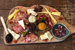 Enjoy some cheese and charcuterie at Comptoir and Cuisine