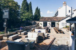 The Locksbrook Inn boasts one of the best pub gardens in Bath