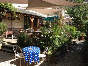 Best pub gardens in Bath: The White Hart