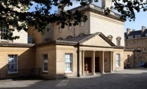 The Bath Assembly Rooms feature in two Jane Austen novels