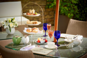Afternoon tea at the Royal Crescent Hotel in Bath is a real treat